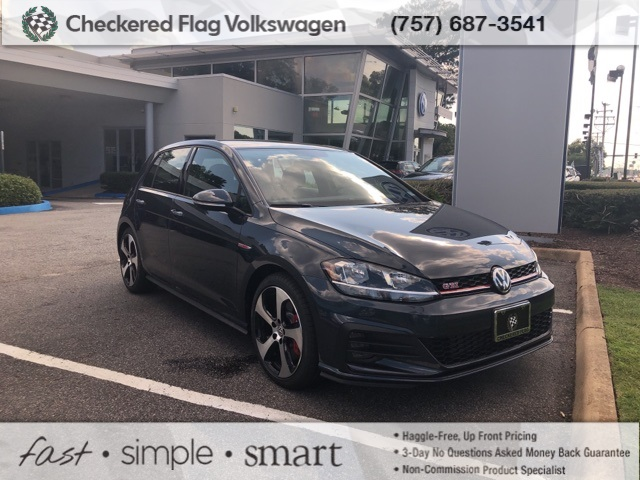 New 2019 Volkswagen Golf GTI 2 0T S FWD 4D Hatchback
