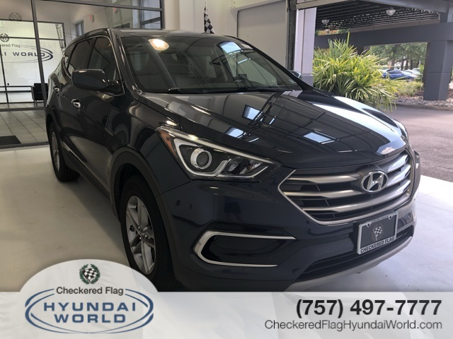 Pre-Owned 2017 Hyundai Santa Fe Sport 2.4 Base