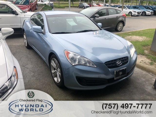 2012 Hyundai Genesis Coupe 2.0 T >> Pre Owned 2012 Hyundai Genesis Coupe 2 0t Rwd 2d Coupe