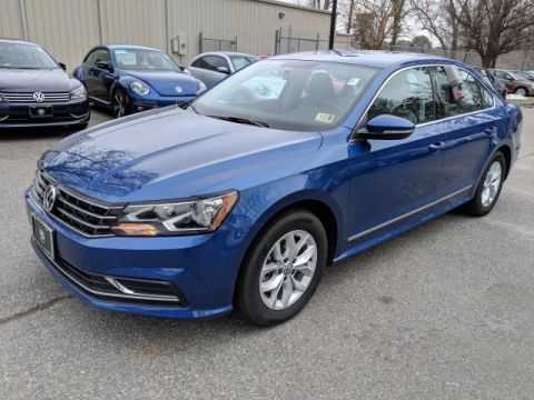 Certified Pre-Owned 2017 Volkswagen Passat 1.8T S FWD 4D Sedan