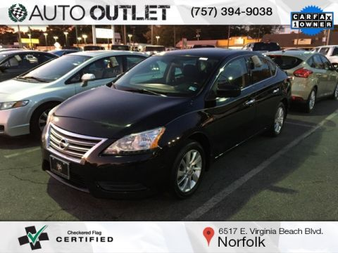 Pre-Owned 2015 Nissan Sentra SV